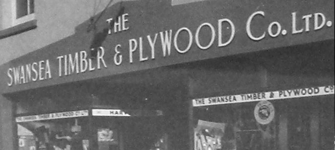 Swansea Timber and Plywood established in 1933